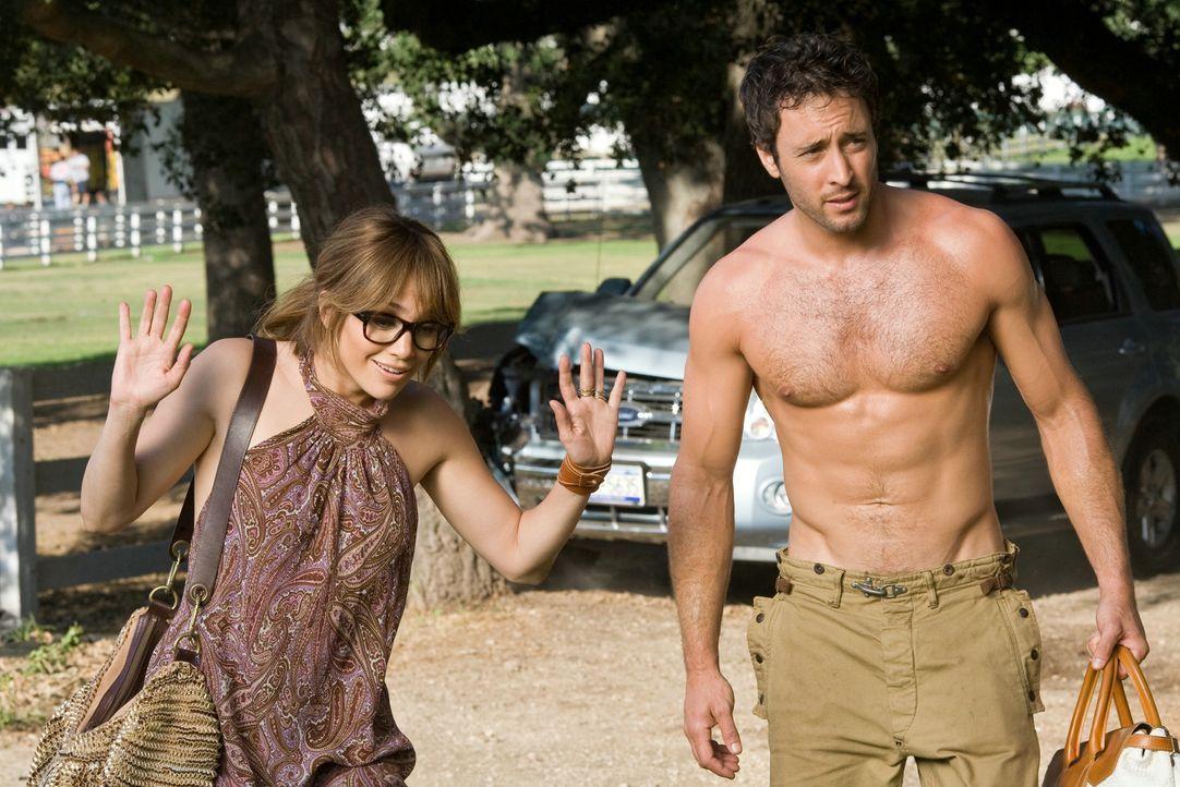 Traummann hin oder her, aber wenn Stan (Alex O'Loughlin, r.) mit Zoes (Jennifer Lopez, l.) Familienplanung nicht klar kommt, ist er eben nicht der R... - Bildquelle: 2010 Concorde Filmverleih GmbH