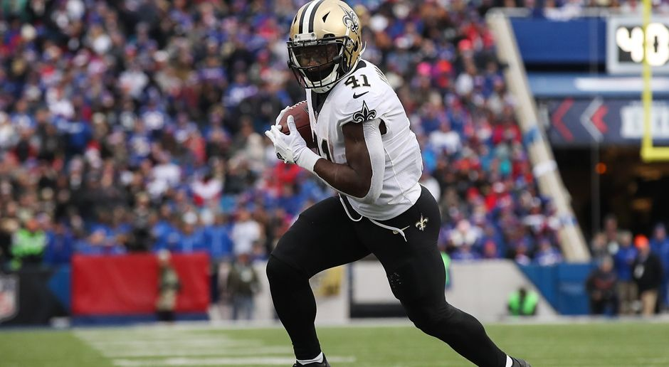 Running Back: Alvin Kamara - Bildquelle: 2017 Getty Images
