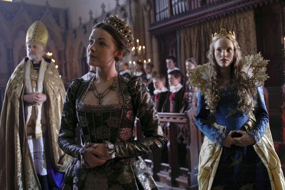König Henry VIII. ist nach Lincoln gekommen, um sich mit den Bauern, die gegen den König rebelliert hatten, auszusöhnen. Bei einem Gottesdienst i... - Bildquelle: 2010 TM Productions Limited/PA Tudors Inc. An Ireland-Canada Co-Production. All Rights Reserved.