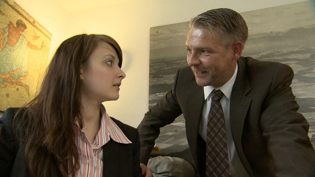 Eigentlich ist Jasmin immer sehr gewissenhaft, doch dann passiert der Steuerfachgehilfin ein folgenschweres Missgeschick. Die 22-jährige vergisst,... - Bildquelle: SAT.1