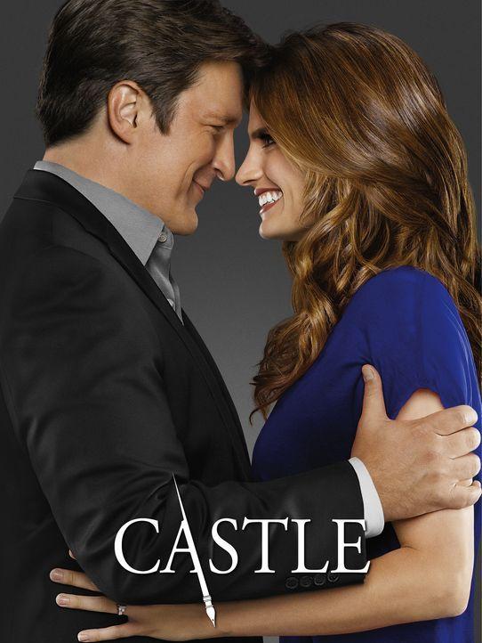 (6. Staffel) - Ein Herz und eine Seele: Kate Beckett (Stana Katic, r.) und Richard Castle (Nathan Fillion, l.) - Bildquelle: 2013 American Broadcasting Companies, Inc. All rights reserved.