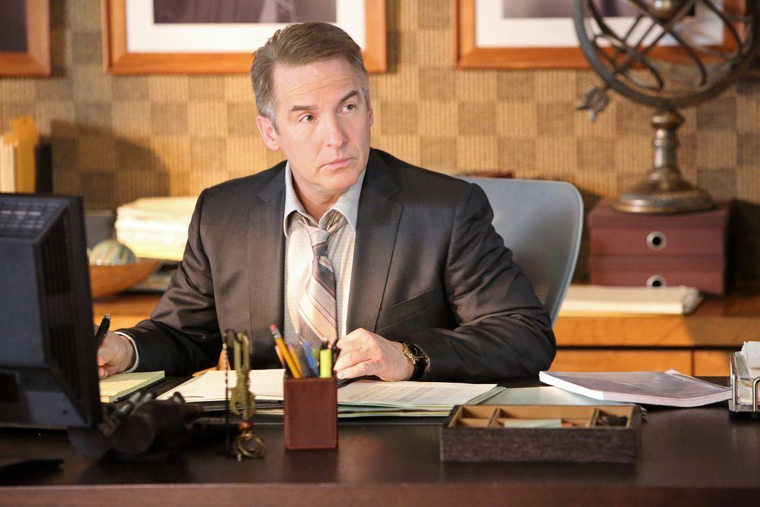 Verschweigt seinen Kollegen seine Krankheit: Sheldon (Brian Benben) ... - Bildquelle: ABC Studios