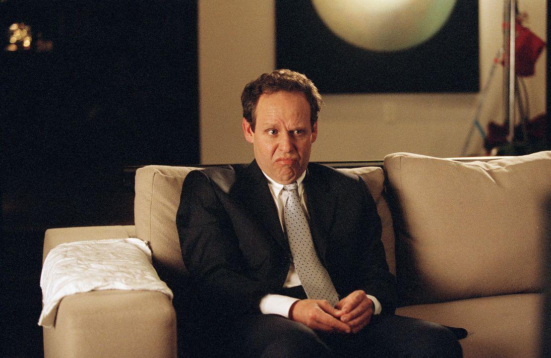 Der angehende Schriftsteller Quincy ist von seinem neuen Chef (Peter MacNicol) so genervt, dass er kurzerhand die Kündigung einreicht, um ein Buch z... - Bildquelle: 2006 Sony Pictures Television International.
