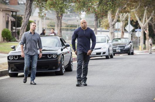 Navy CIS: L.A. - Auf das Team um Sam (LL Cool J, r.) und Callen (Chris O'Donn...