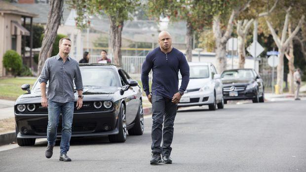 Auf das Team um Sam (LL Cool J, r.) und Callen (Chris O'Donnell, l.) wartet e...
