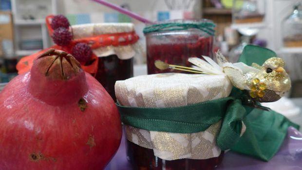 Granatapfel-Schockoladen-Chutney selbst machen mit der Handmade mit Enie DIY...