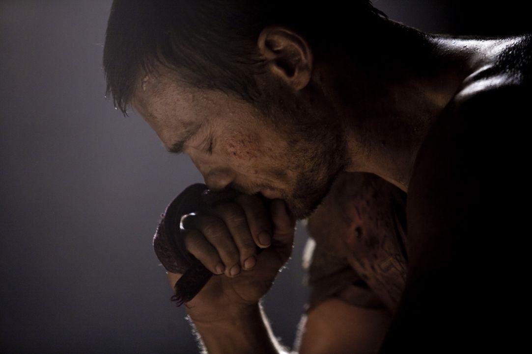 Spartacus (Andy Whitfield) will nur noch eines: Seine geliebte Frau aus der Sklaverei als Gladiator freizukaufen ... - Bildquelle: 2010 Starz Entertainment, LLC