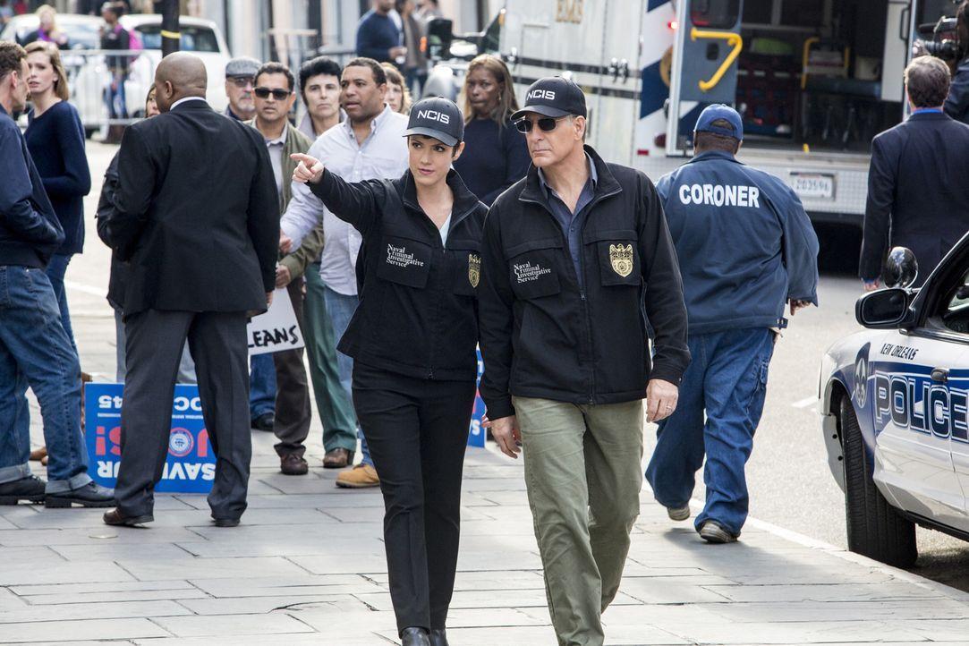 Ein neuer Fall beschäftigt das Team: Brody (Zoe McLellan, l.) und Pride (Scott Bakula, r.) ... - Bildquelle: 2014 CBS Broadcasting Inc. All Rights Reserved.