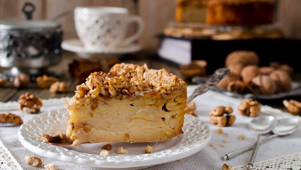 Rezept Apfel Walnuss Kuchen Sat 1 Ratgeber