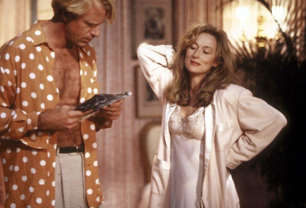 Glückliche und stressfreie Stunden sind in Bobs (Ed Begley, Jr., l.) und Marys (Meryl Streep, r.) Beziehung ausgesprochen selten. - Bildquelle: 20th Century Fox