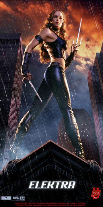 Weiß sich durchaus zu wehren: Elektra (Jennifer Garner) ... - Bildquelle: 20th Century Fox