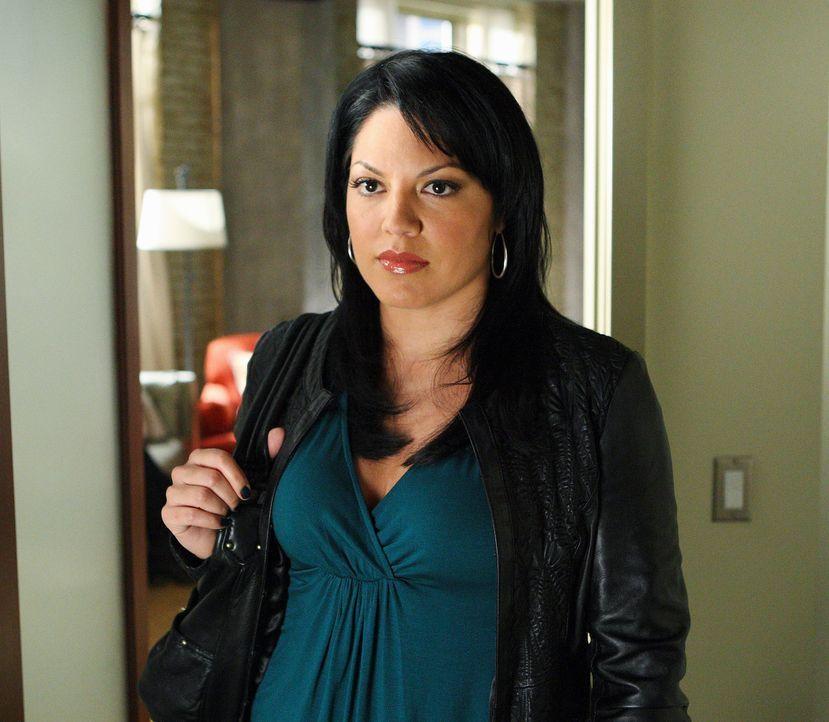 Hat einen harten Arbeitstag hinter sich: Callie (Sara Ramirez) ... - Bildquelle: Touchstone Television