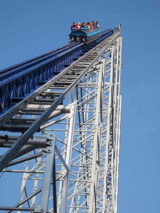 "Erschrecken hoch: die ""Cedar Point's Millennium Force"" in Ohio ... - Bildquelle: 2012, The Travel Channel, L.L.C. All rights Reserved."