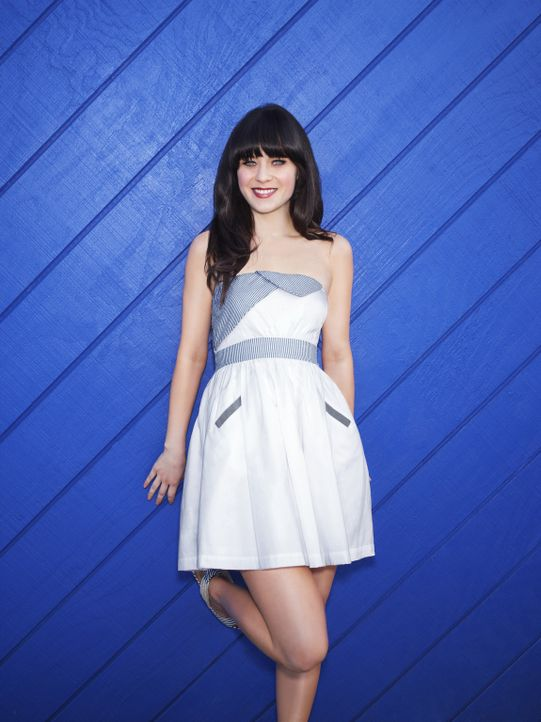 (2. Staffel) - Wo ein Fettnäpfchen ist, ist Jessica Day (Zooey Deschanel) meist nicht weit ... - Bildquelle: 2012-2013 Twentieth Century Fox Film Corporation. All rights reserved.