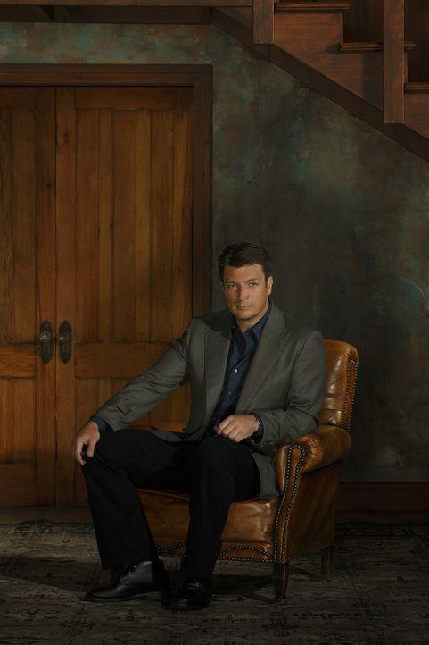 (6. Staffel) - Castle (Nathan Fillion) kann mitunter etwas unreif sein, aber wenn es die Situation erfordert, ist auf ihn Verlass! - Bildquelle: 2013 American Broadcasting Companies, Inc. All rights reserved.