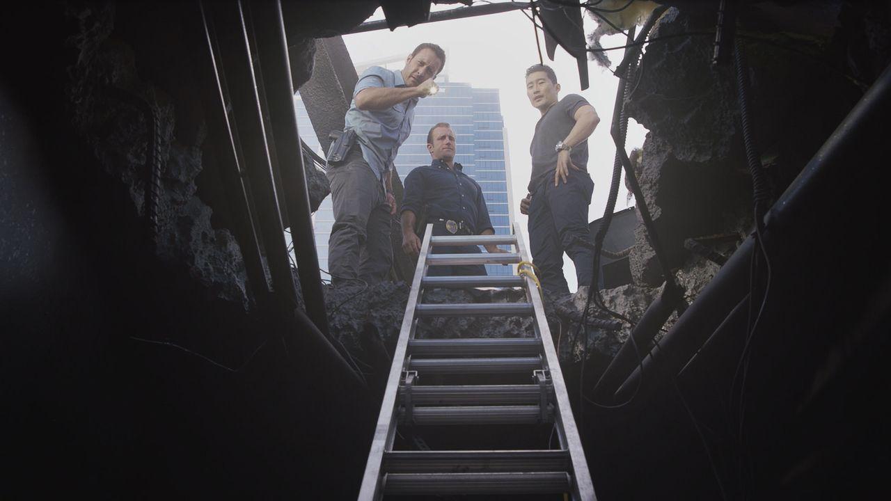 Max bereitet sich auf seinen Abschied vor, während das Team einen Mordfall untersucht, der sich während einer Polizeiveranstaltung auf der Insel zug... - Bildquelle: Norman Shapiro 2016 CBS Broadcasting, Inc. All Rights Reserved