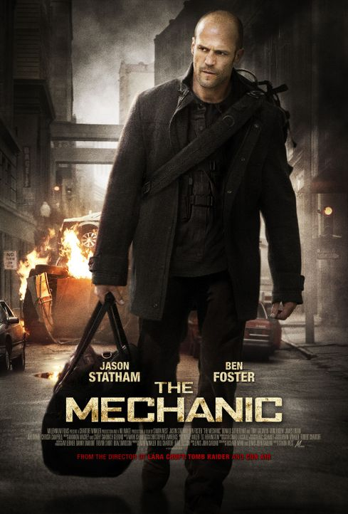 THE MECHANIC - Plakatmotiv - Bildquelle: 2010 SCARED PRODUCTIONS, INC.