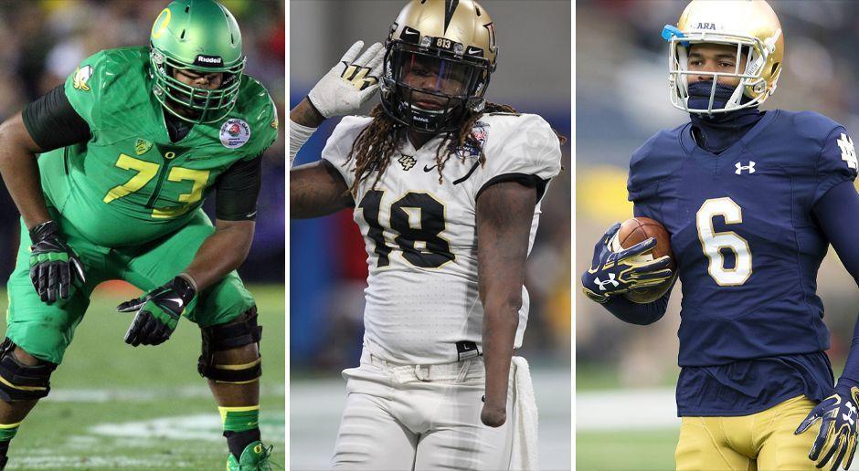 NFL Draft 2018: Diese Talente sind an Tag drei noch zu haben
