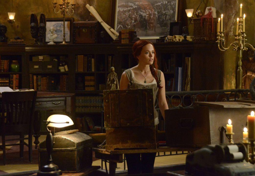 Trotz aller Geschehnisse stellt sich Katrina (Katia Winter) immer noch schützend vor Abraham und Henry ... - Bildquelle: 2014 Fox and its related entities. All rights reserved
