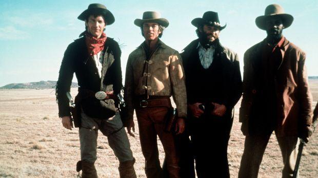 Das Schicksal führt die 'Glorreichen Vier', Jake (Kevin Costner, l.), seinen...