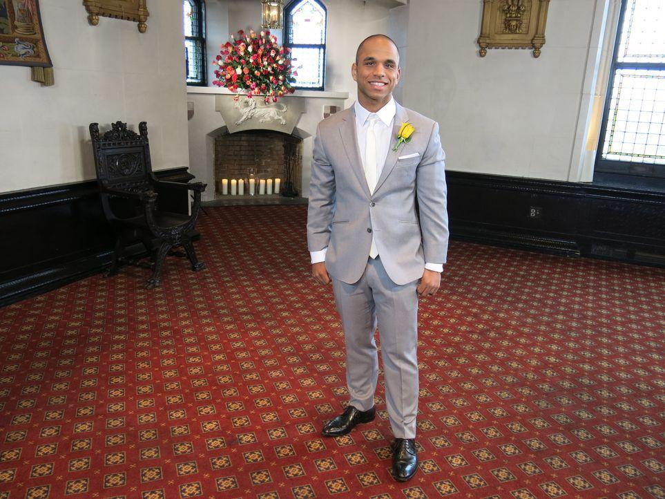 Ryan glaubt, dass seine Hochzeit einfach perfekt wird ... - Bildquelle: Richard Vagg DCL