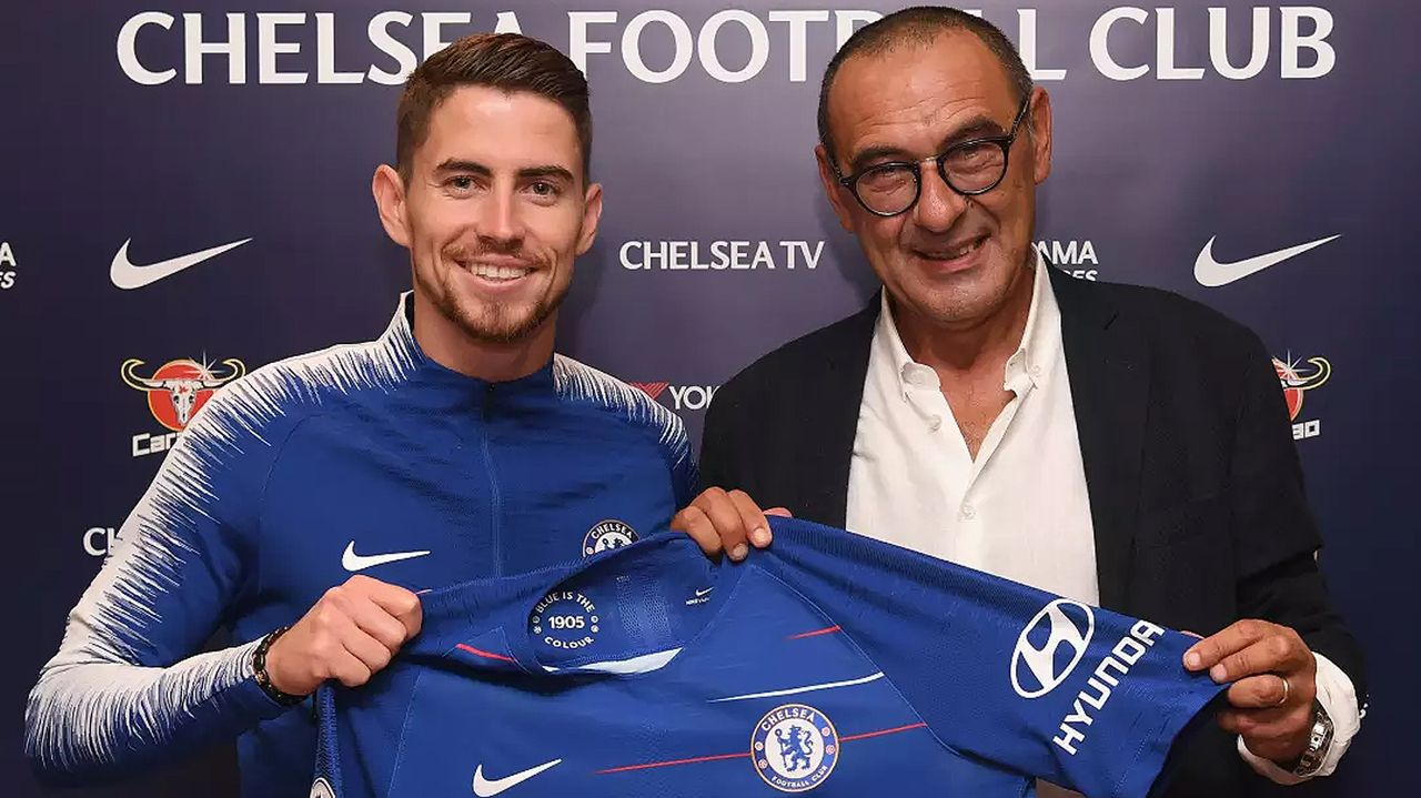 Jorginho (Zugang FC Chelsea) - Bildquelle: twitter@chelseafc