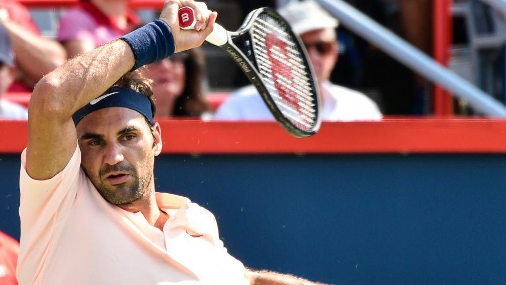 Roger Federer zieht souverän ins Finale von Montreal ein - Bildquelle: GETTYAFPSIDMinas Panagiotakis