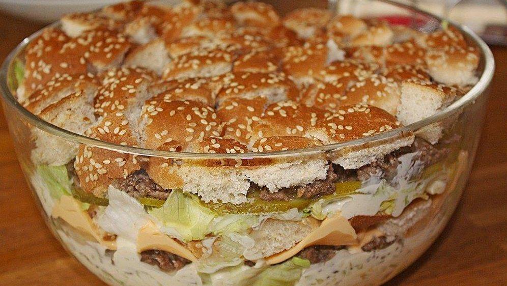 Hamburgersalat