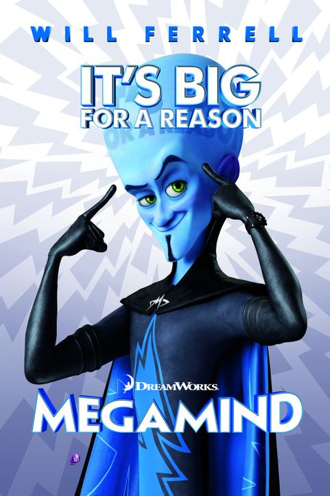 MEGAMIND - Plakat - Bildquelle: MEGAMIND TM &   2012 DreamWorks Animation LLC. All Rights Reserved.