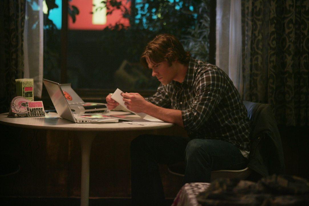 Sam (Jared Padalecki) und sein Bruder untersuchen den Mord eines Anwalts und seiner Frau ...