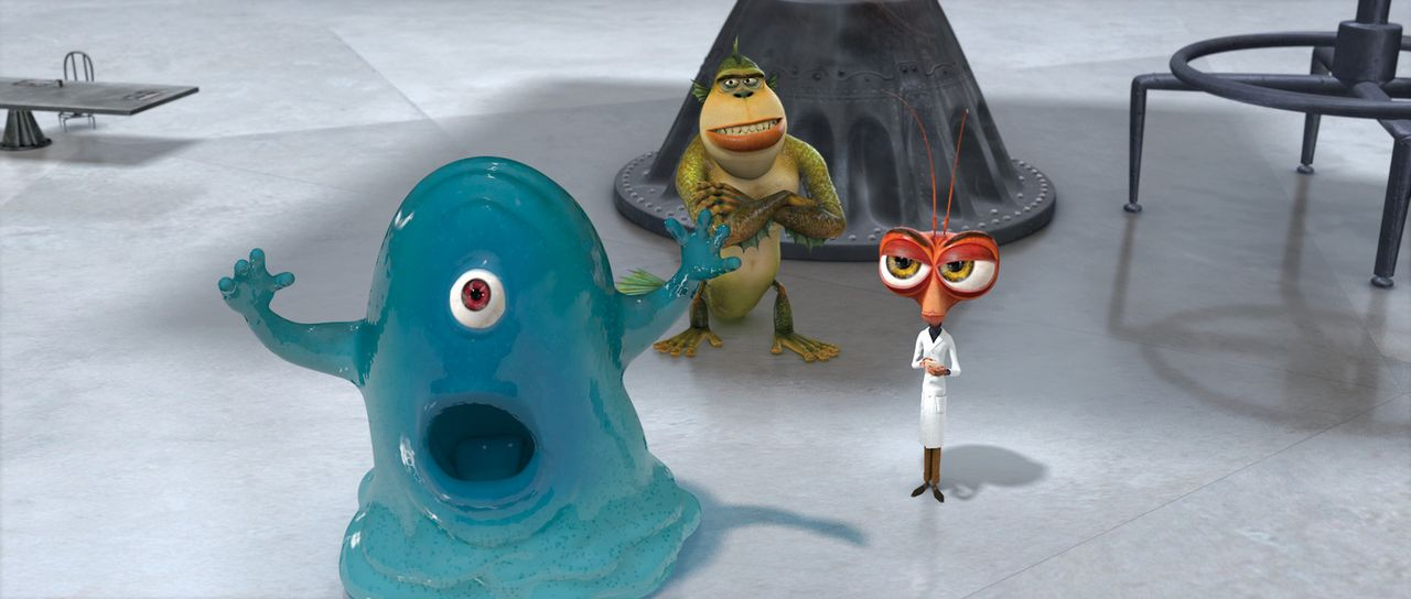 Monsters vs. Aliens - Bildquelle: TM and   2008 by DreamWorks Animation LLC. All rights reserved.
