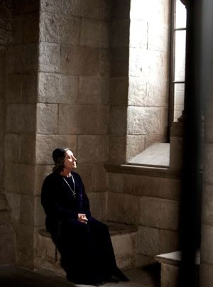 Die Säulen der Erde: Ian McShane als Bischof Waleran (Bildergalerie) - Bildquelle: Egon Endrenyi - Tandem Productions - Pillars Productions