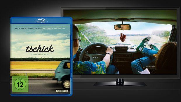 Tschick - Blu-ray Cover und Szenenbild © Studiocanal