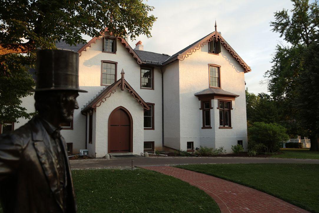 """Eigentlich war """"The Soldiers Home"""" ein Ort für ehemalige Soldaten, doch in diesem Cottage schrieb Abraham Lincoln Geschichte, als er die Unabhängigk... - Bildquelle: Indigo Films/ DCL"""