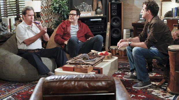 Der Psychotherapeut Dr. Johnson (Matt Besser, r.) muss helfen. Bei Tom (Beau...