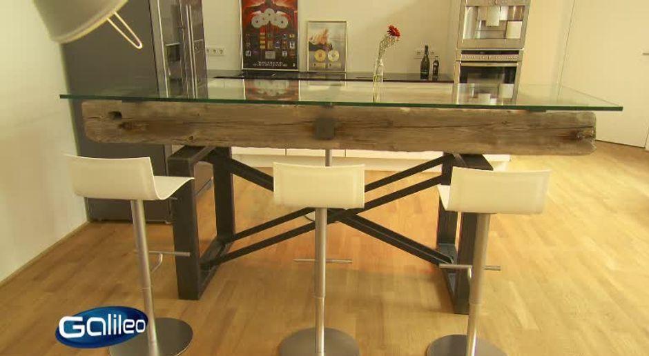 Möbel aus müll selber machen  Galileo - Video - Design aus Müll - ProSieben