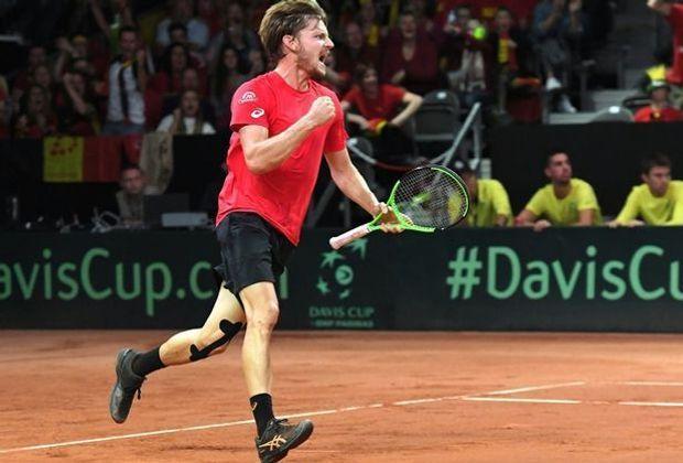 Belgien will mit Goffin den ersten Davis-Cup-Titel holen