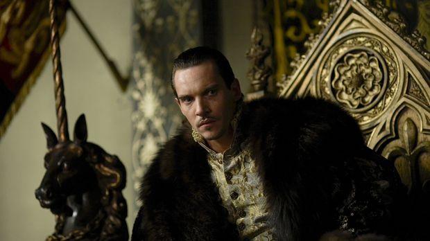 Ist enttäuscht, als er Anna von Klewe zum erstenmal zu Gesicht bekommt: König...