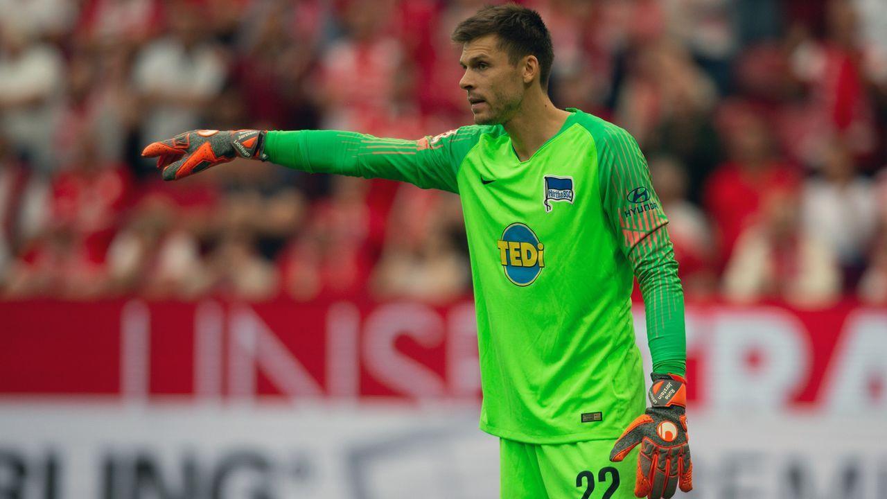 Rune Jarstein (Hertha BSC) - Bildquelle: 2018 Getty Images