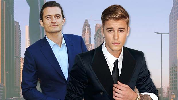 COLLAGE-Justin-Bieber-Orlando-Bloom-620x348 - Bildquelle: MEV/ Lia Toby/WENN.com/dpa