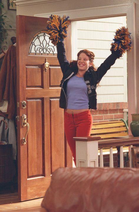 Zur Überraschung aller gewinnt Kerry (Amy Davidson) das Casting der Cheerleader, dass jedoch in der Familie für Missstimmung sorgt ... - Bildquelle: ABC, Inc.