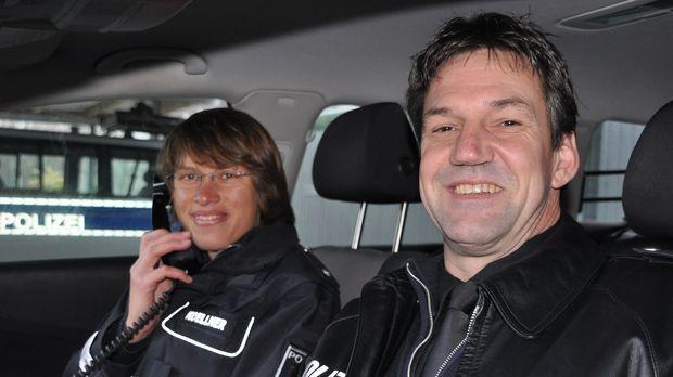 Uwe Bahlmann und seine Kollegin Wiebke Köllner treffen in Stade auf alte Beka...