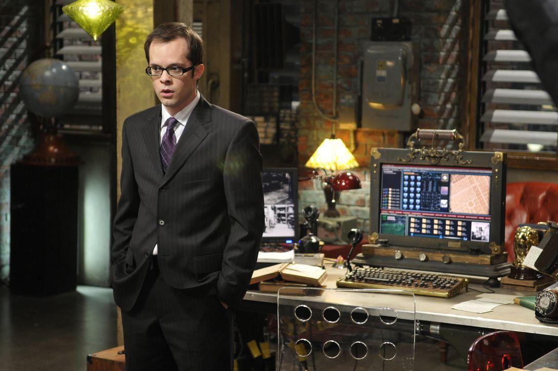 Douglas Fargo (Neil Grayston), der Chef von Global Dynamics, reist aus Eureka an, um das Computersystem des Warehouse auf Vordermann zu bringen. Als... - Bildquelle: Steve Wilkie SCI FI Channel