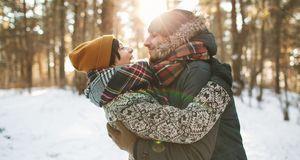 Total romantisch: ein Ausflug in das Winter-Wunderland.