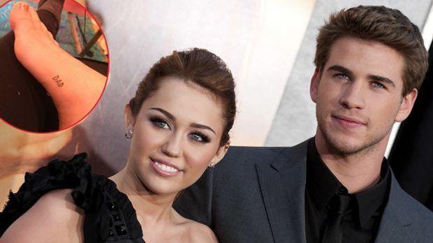 Miley Cyrus schockt Liam Hemsworth mit Tattoo: Süße Liebeserklärung an andere...