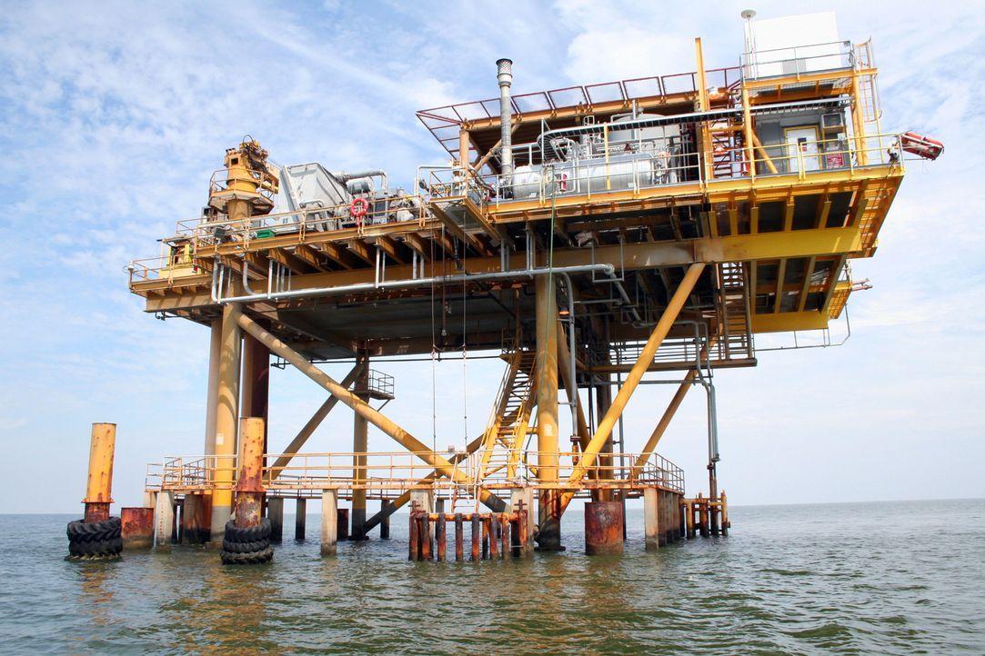 Wenn Bohrinseln durch die Strapazen des Meeres abgenutzt und veraltet sind, stehen die Betreiber vor einer anspruchsvollen und teuren Aufgabe. Die G... - Bildquelle: PMF/Klaire Markham