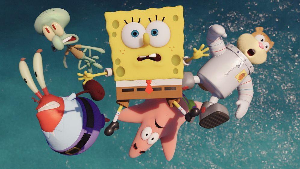 SpongeBob Schwammkopf - Schwamm aus dem Wasser - Bildquelle: (2016) Paramount Pictures and Viacom International Inc. All Rights Reserved. SPONGEBOB SQUAREPANTS is the trademark of Viacom International Inc.
