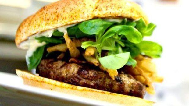 Gourmet-Hamburger