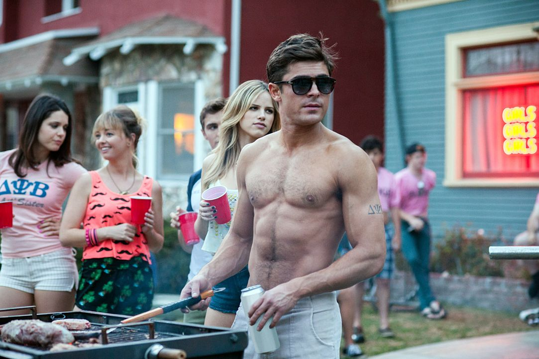 Zac-Efron-Bad-Neighbors-Filmszene-dpa - Bildquelle: Universal Pictures/dpa