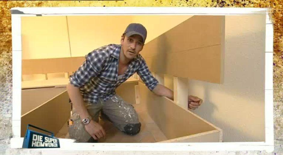 Sofa selber bauen - Video - Profi-Tipps der Super-Heimwerker